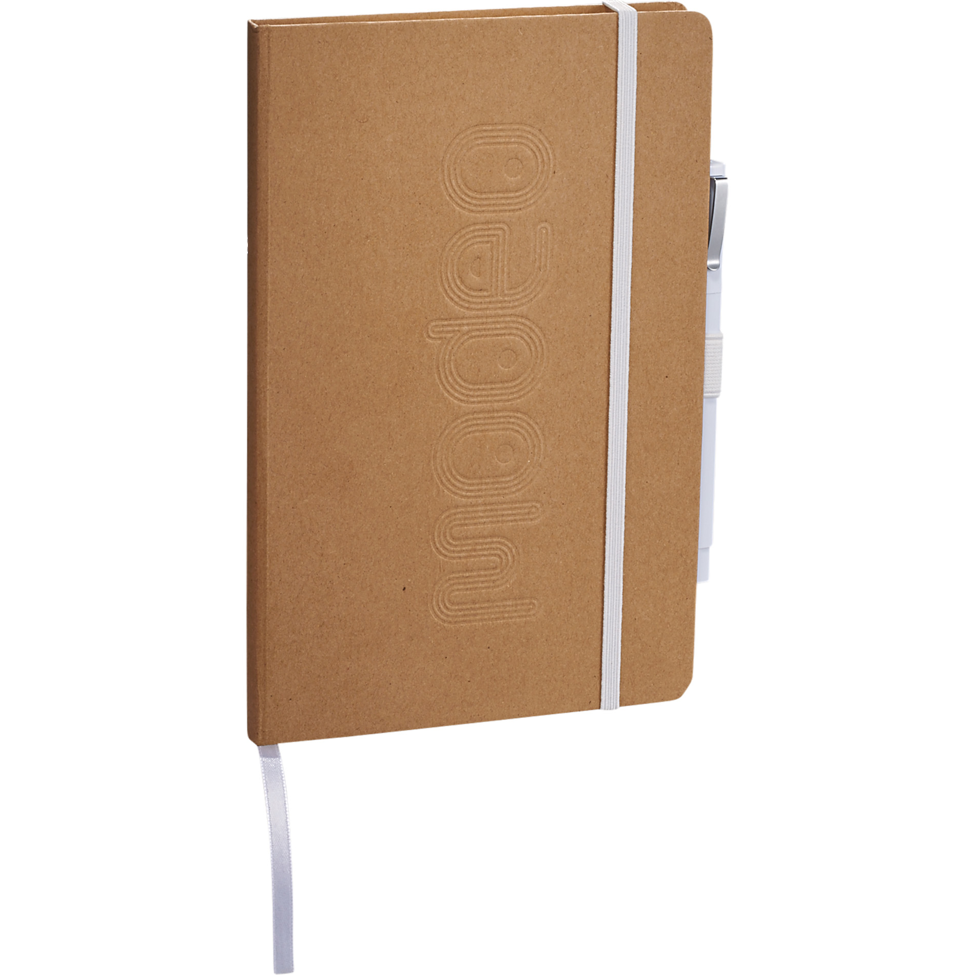 Eco friendly journal set with white accents