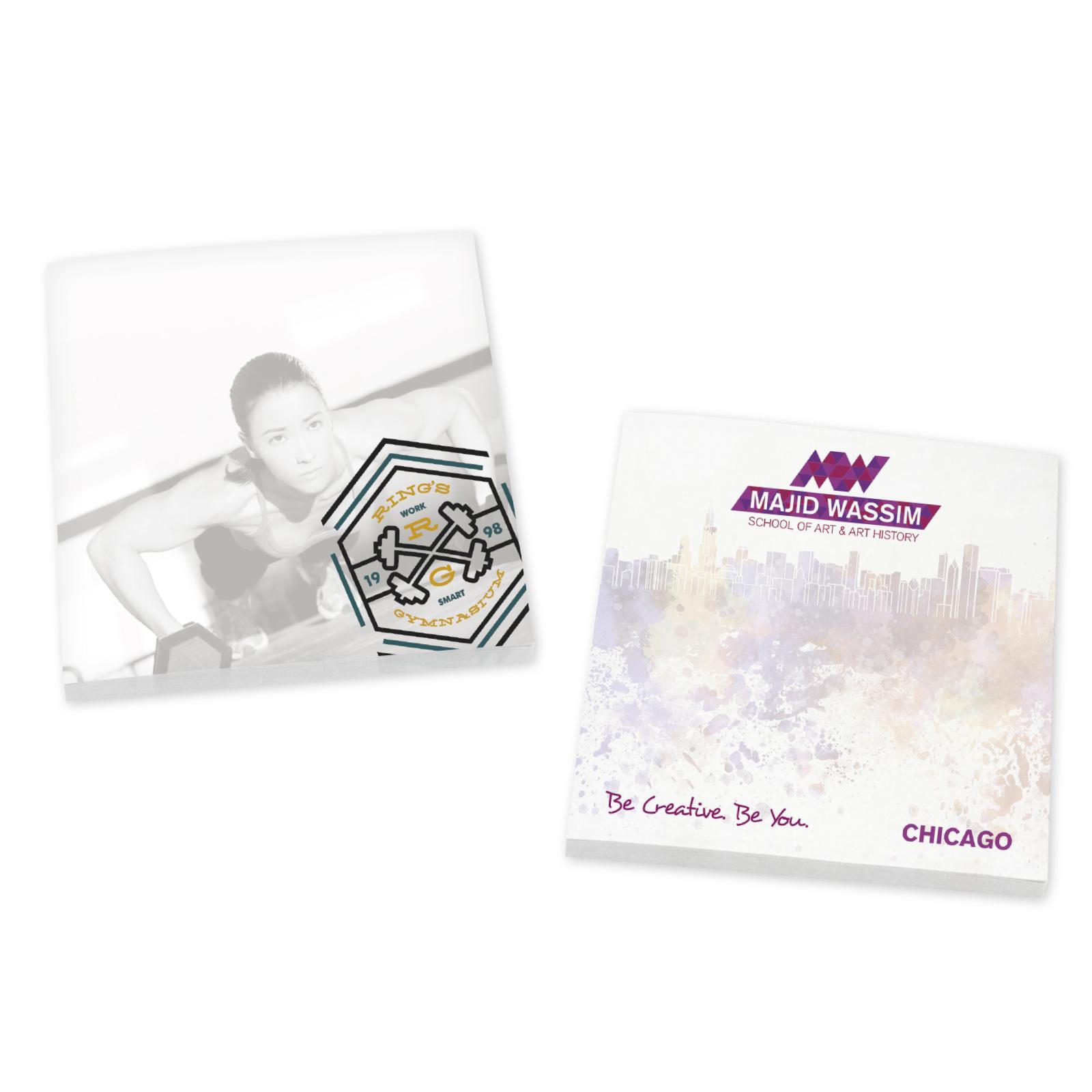 """BIC® Ecolutions® 3"""" x 3"""" Adhesive Notepad, 25 Sheet Pad"""