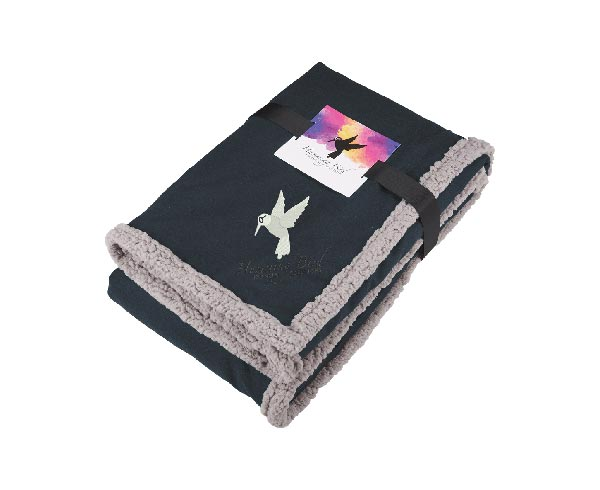 Field & Co.® Oversized Wool Sherpa Blanket w/Card